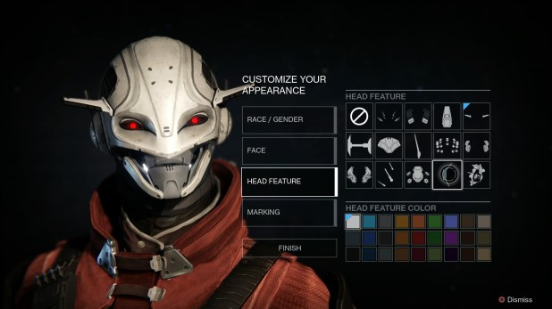 Appearance (Character Customization) - Destiny