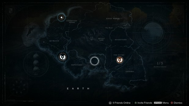 Maps UI - Destiny