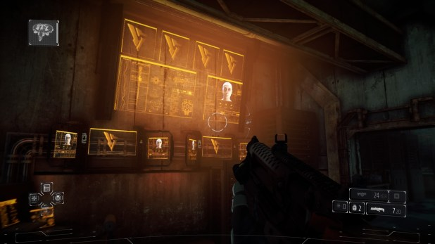 Diegetic UI (Display) - Killzone Shadow Fall