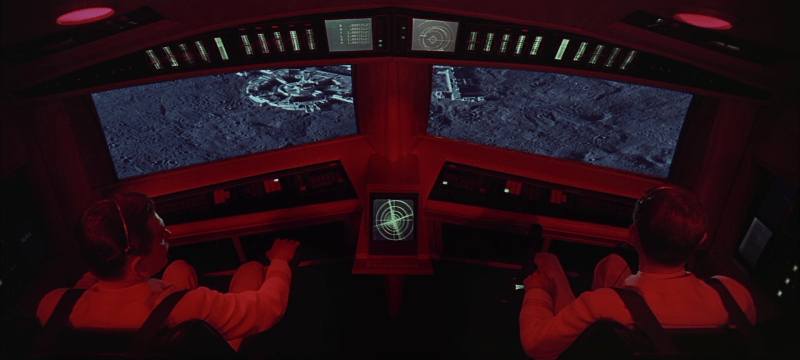 Navigation UI - 2001 A Space Odyssey