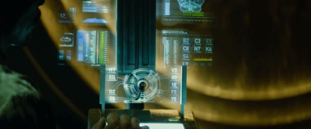 Medical UI - Total Recall (2012)