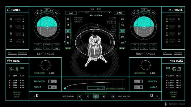 The Martian - Territory Studio UI Reel
