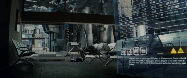 Bulletin Board UI - Total Recall (2012)