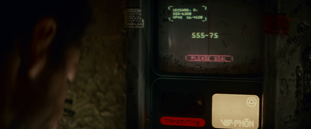 Communication UI - Blade Runner
