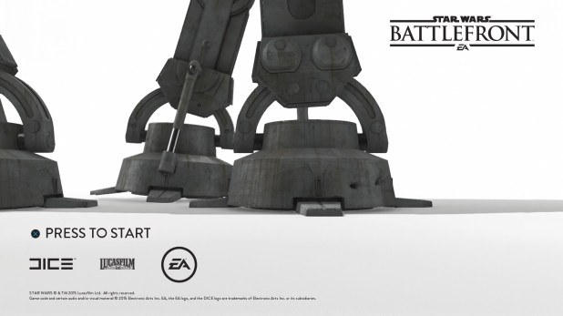 Start Sequence - Star Wars Battlefront