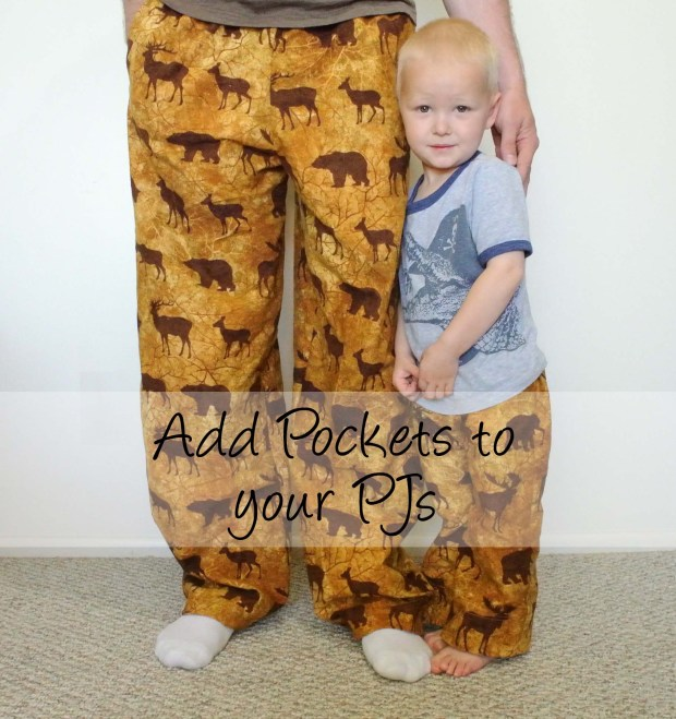 Add pockets to your PJs