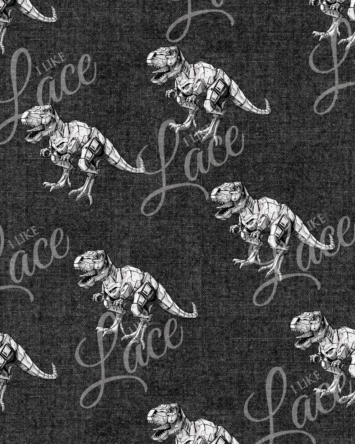 charcoal dinos