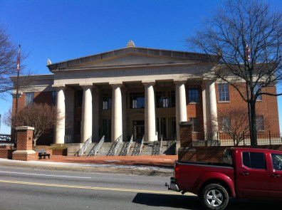 The News Building, home of the Athens Banner-Herald