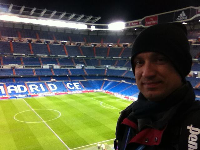 Santiago Bernabeu in Madrid