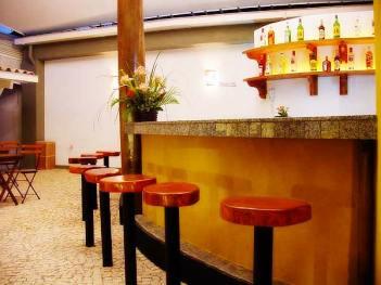 bar counter for the fanciest gay sauna in Salvador garotos de programa