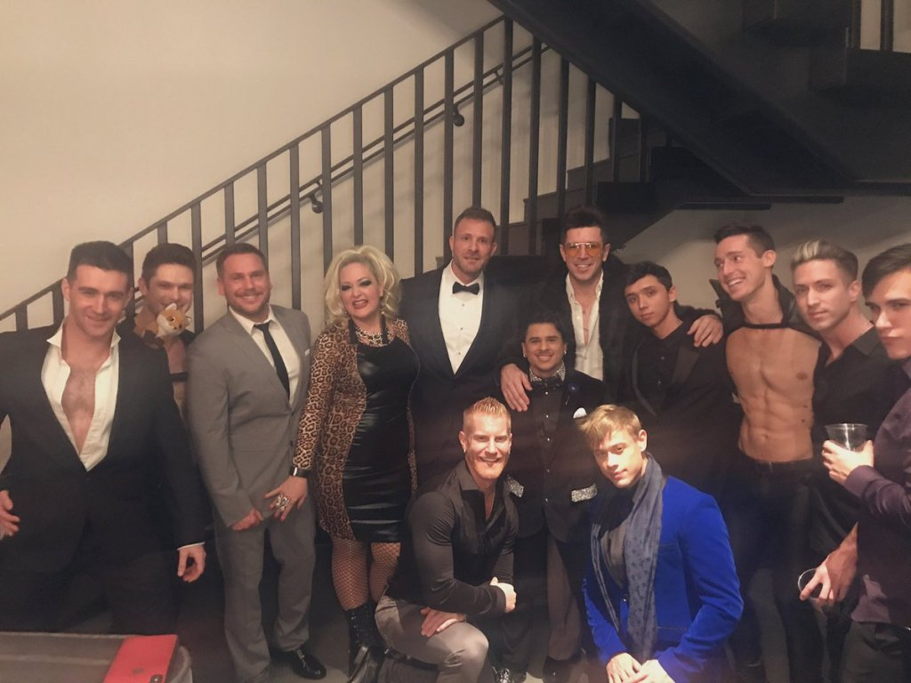 best porn studio 2018 best pingas awards. Picture of Falcon Studios pre-party at the GAYVN awards 2018 in Las Vegas, January 20 2019
