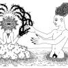 dibujo de la serie El Rojas por Marcelo Pombo para Gay is not Good