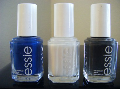 Essie: Mezmerised, Marshmallow & Power Clutch
