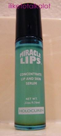 holocuren mircle lips serum
