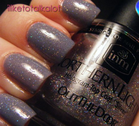 OPI I dont give a rotterdam with holo sparkle 1