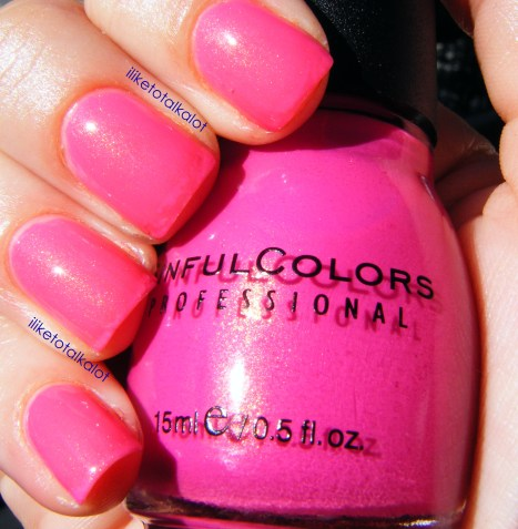 iliketotalkalot cream pink sinful colors 3