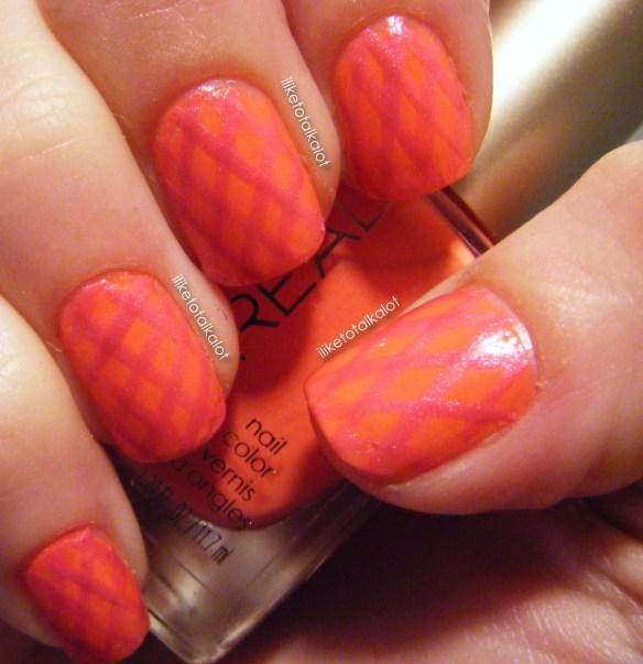 loreal tangerine crush summer fishnets iliketotalkalot 2