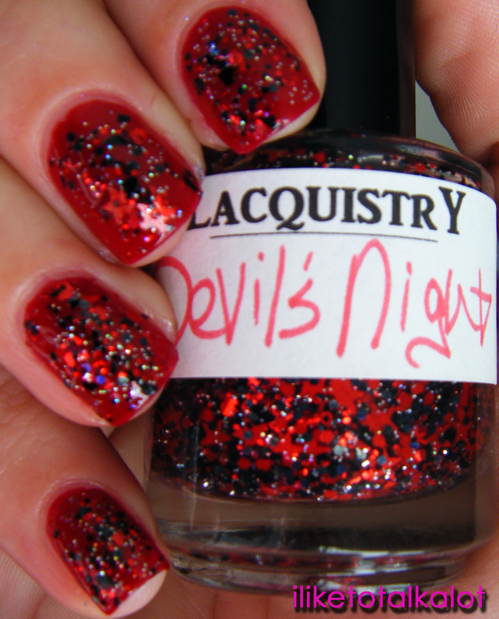 Etsy\'s Lacquistry: Devil\'s Night Swatches ...