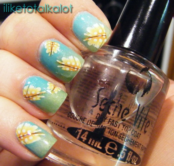 feather nails art iliketotalkalot