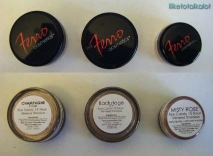 ferro cosmetics eye candy 15 hour mineral eye shadow