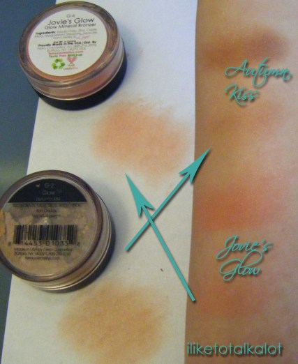 ferro cosmetics glow bronzers comparison switch
