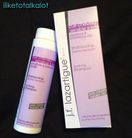 jflazartigue soothing shampoo front of bottle iliketotalkalot