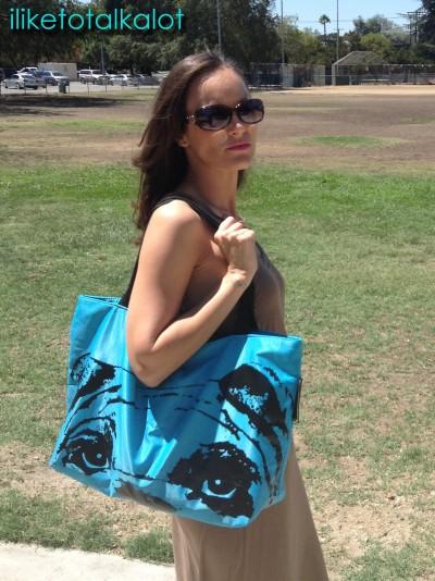 pink basis pug bag blue 1
