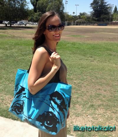 pink basis pug bag blue 2