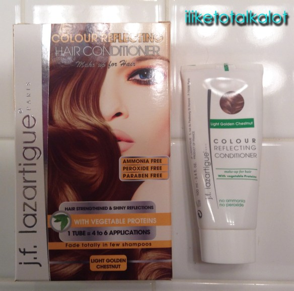 jflazartigue colour reflecting conditioner chestnut golden brown box iliketotalkalot
