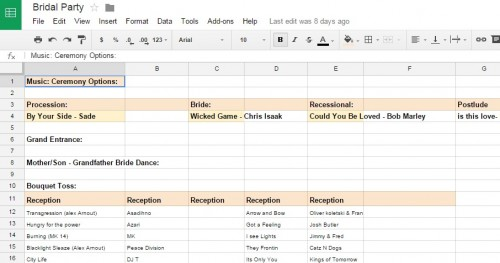 google sheets are your friend...and free to use!