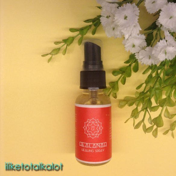 healanah healing spray energy iliketotalkblog iliketotalkblog