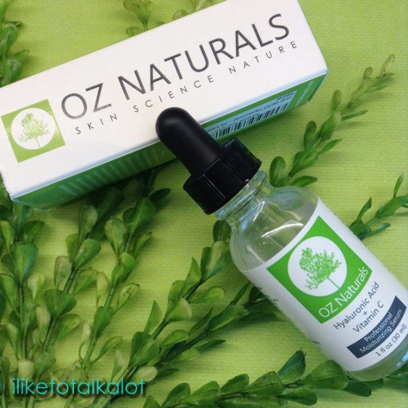 OZ Naturals Hyaluronic Acid Serum with Vitamin C iliketotalkalot