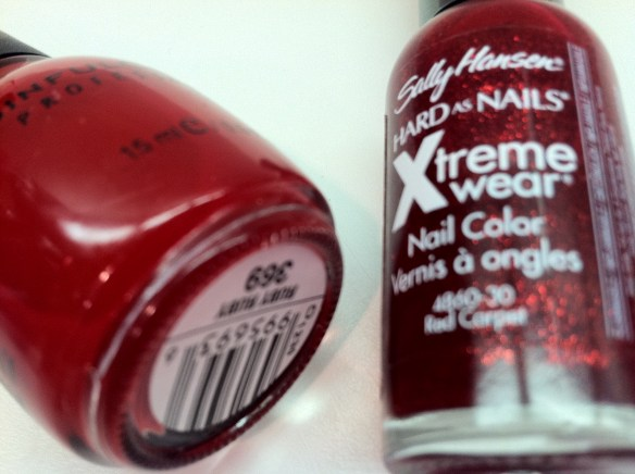 Sally Hansen Xtreme Wear Red Carpet  Sinful Colors Ruby Red