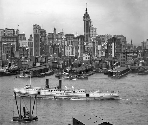 Manhattan 1908