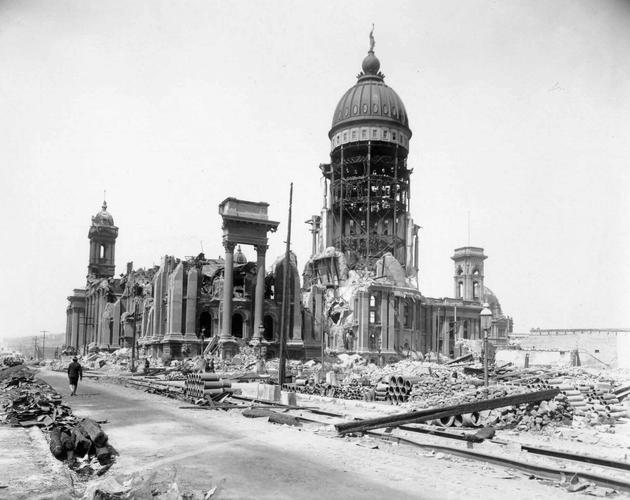 San Fran Earthquake 1906 city hall