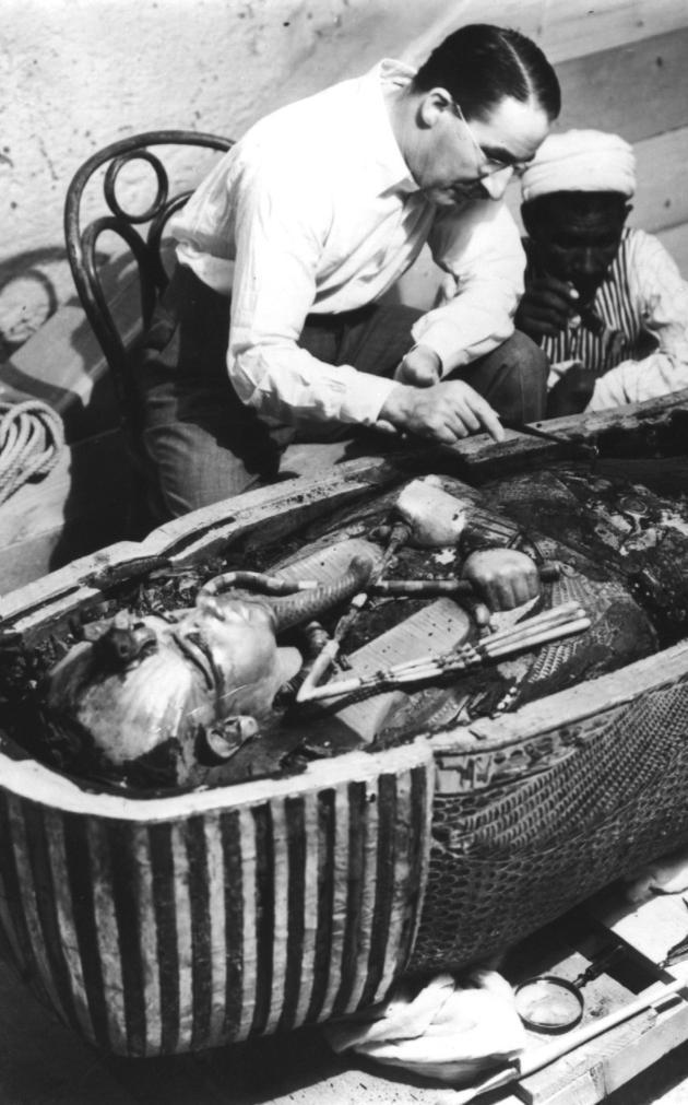 Opening King Tut's Sarcophagus
