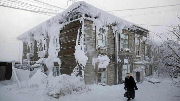 Oymyakon, Russia the coldest village on earth