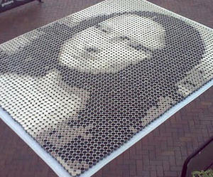 Mona Lisa In 3000 Cups Of Coffee I Like To Waste My Time