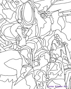 1. line drawing