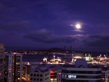 Auckland moon
