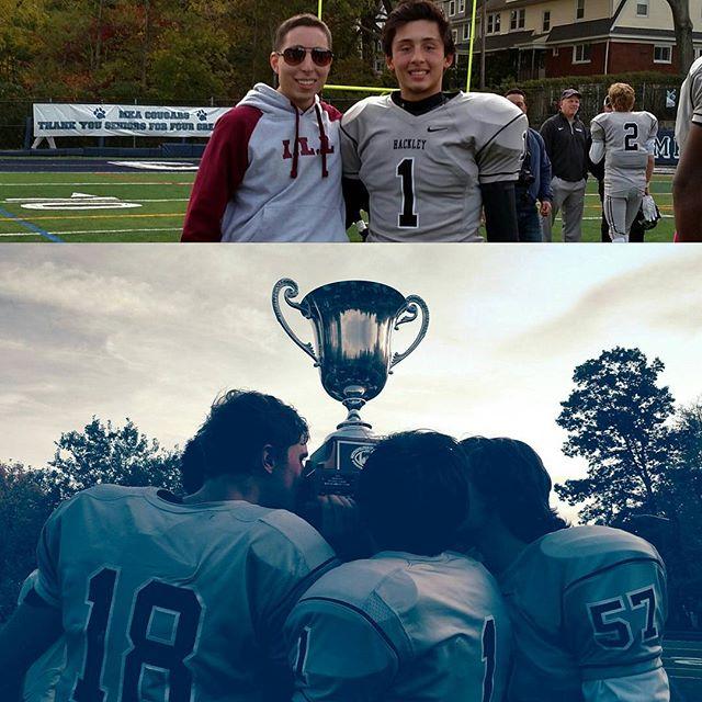 Hackley won!  My cousin @smith_ryan11, cornerback for the Hornets won his  Championship Game! 41-40. Congrats man!#ILL #football #champion #senior #highschool #cornerback #life #great #cousin #family #friend