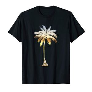 Palm Tree Shirt | Cool Graphic Tees Palm Tree Beach T-shirt