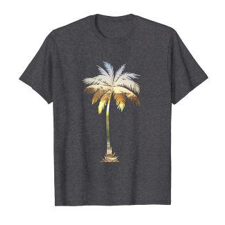 Palm Tree Shirt   Cool Graphic Tees Palm Tree Beach T-shirt