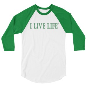 Christmas Green I Live Life Shirt