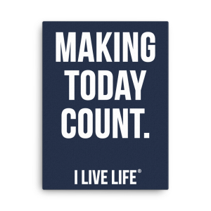 Motivational-Canvas-Wall-Art-MAKING-TODAY-COUNT