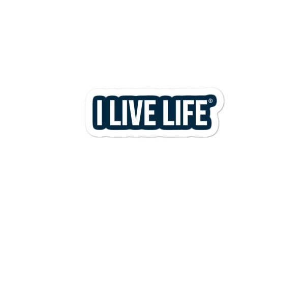I Live Life Stickers on ilivelifeill.com