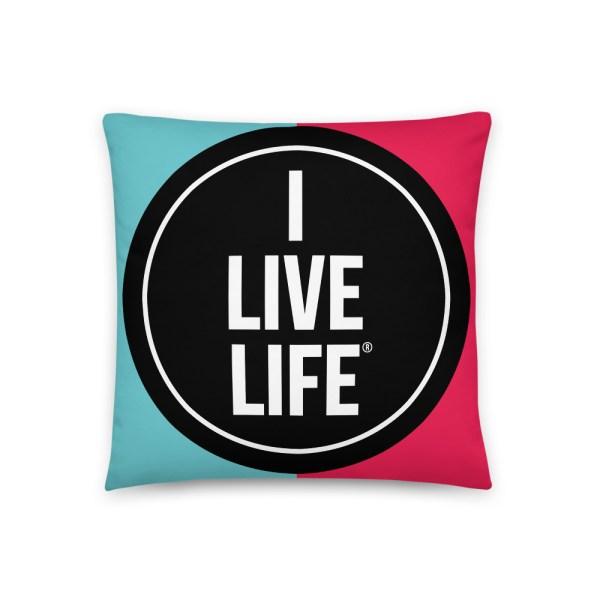 I Live Life TikTok Pillow on ilivelife.net