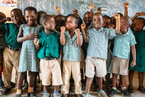 Pencils Of Promise Students