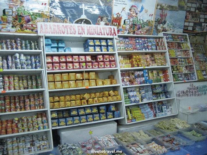 Puno Peru miniature fair travel folklore culture arts photo