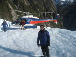glacier hike, blue ice, outdoors, adventure, helicopter